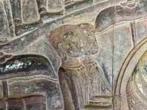 Bas-relief close up, Angkor Wat, Siem Reap, Cambodia (2017-04-08)