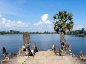 Royal bath Srah Srang, Angkor Small Circuit, Siem Reap, Cambodia (2017-04-10)