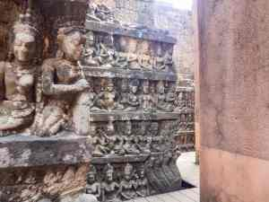 Terrace of the Leper King, Angkor Thom, Siem Reap, Cambodia (2017-04-13)