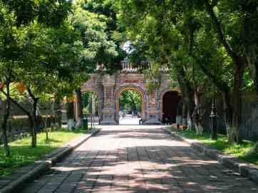 Arch at the Forbidden City, Hue Citadel, Vietnam (2017-06)