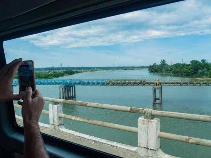 DMZ Tour: Hien Luong Bridge outside Dong Ha, Vietnam (2017-06-26)