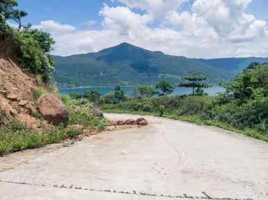 Blocked road, Monkey Peak peninsula, Da Nang, Vietnam (2017-06)