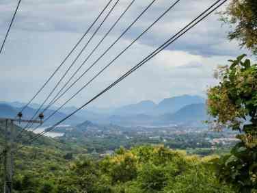 Panoramic view of Luang Prabang, Laos (2017-08)