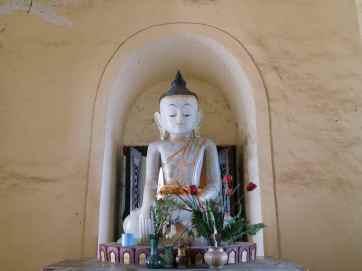 Buddha at Mae Nu Oak Kyaung (Brick Monastery), Inwa, Mandalay, Myanmar (2017-09)