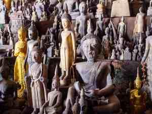Pak Ou (or 4,000 Buddhas) Caves, Luang Say Mekong river cruise, Luang Prabang to Huay Say, Laos (2017-08)