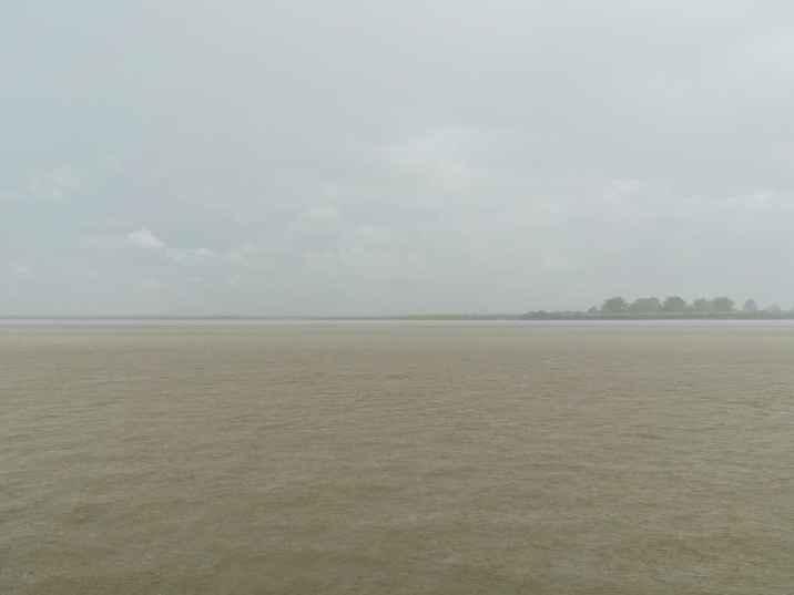 Massive rain storm, Irrawaddy River Cruise Mandalay to Bagan, Myanmar (2017-09)