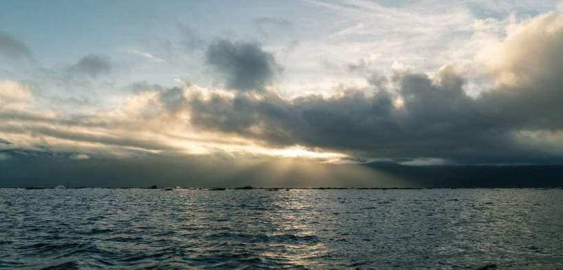 Sunrise over Inle Lake, Myanmar (2017-10)