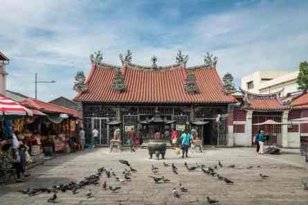 Goddess of Mercy (Kuan Yin) Temple on Harmony Street - George Town, Penang, Malaysia - 20171220-DSC02967