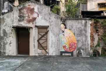 Penang Street Art, George Town, Malaysia - 20171221-DSC03072