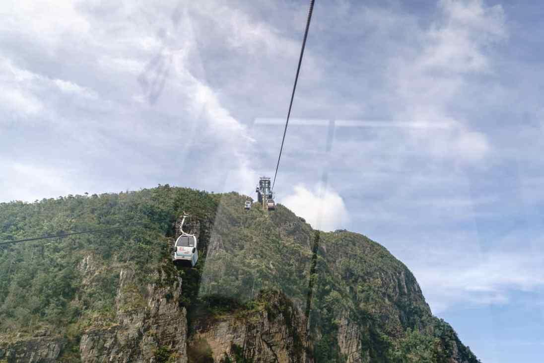 SkyCab cable car, Langkawi, Malaysia