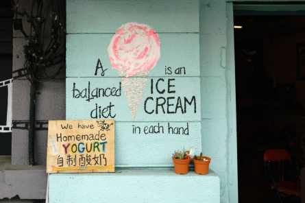 Penang food: A balanced diet is an ice cream in both hands, George Town, Malaysia - 20171222-DSC03159