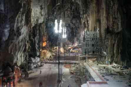 Large Chamber at Temple Cave, Batu Caves, Kuala Lumpur, Malaysia - 20171231-DSC03328