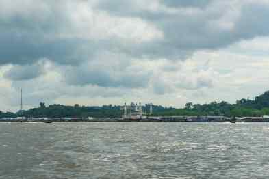 Kampong Ayer water village, Bandar Seri Begawan, Brunei-Darussalam