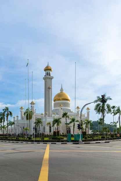 Omar Ali Saifuddien Mosque, Bandar Seri Begawan, Brunei-Darussalam