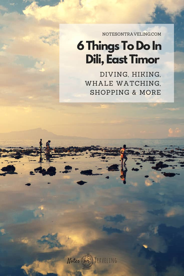 The capital, Dili, is East Timor's most-visited destination, offering diving, history, and a hub for travel into all the regions of Southeast Asia's youngest country.  #timorleste #travel #offthebeatenpath