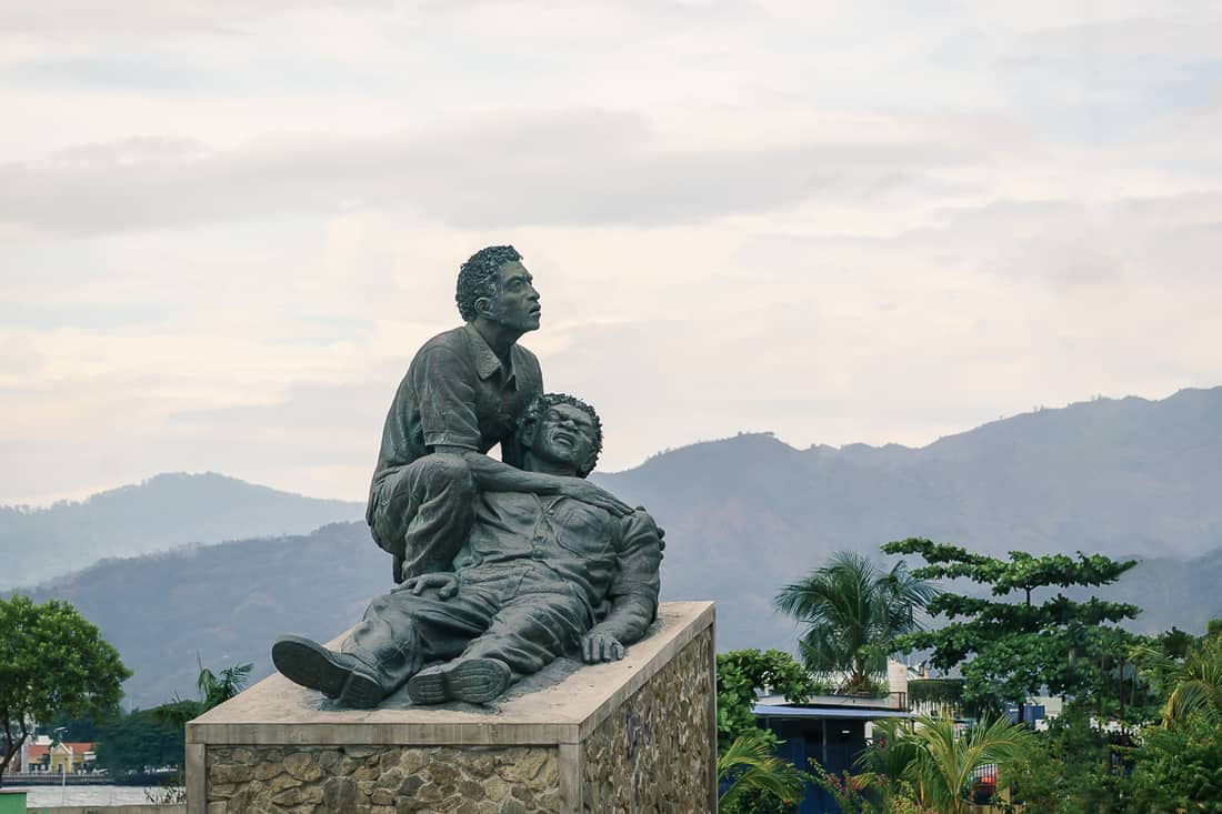 Santa Cruz church massacre monument, Dili, East Timor