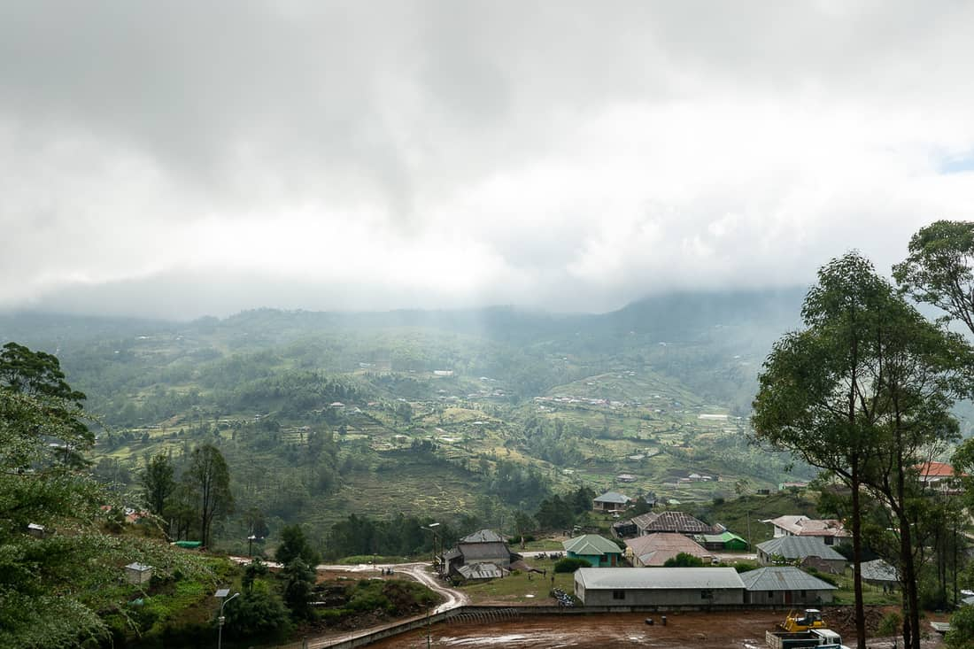 View of Hato Builico, East Timor