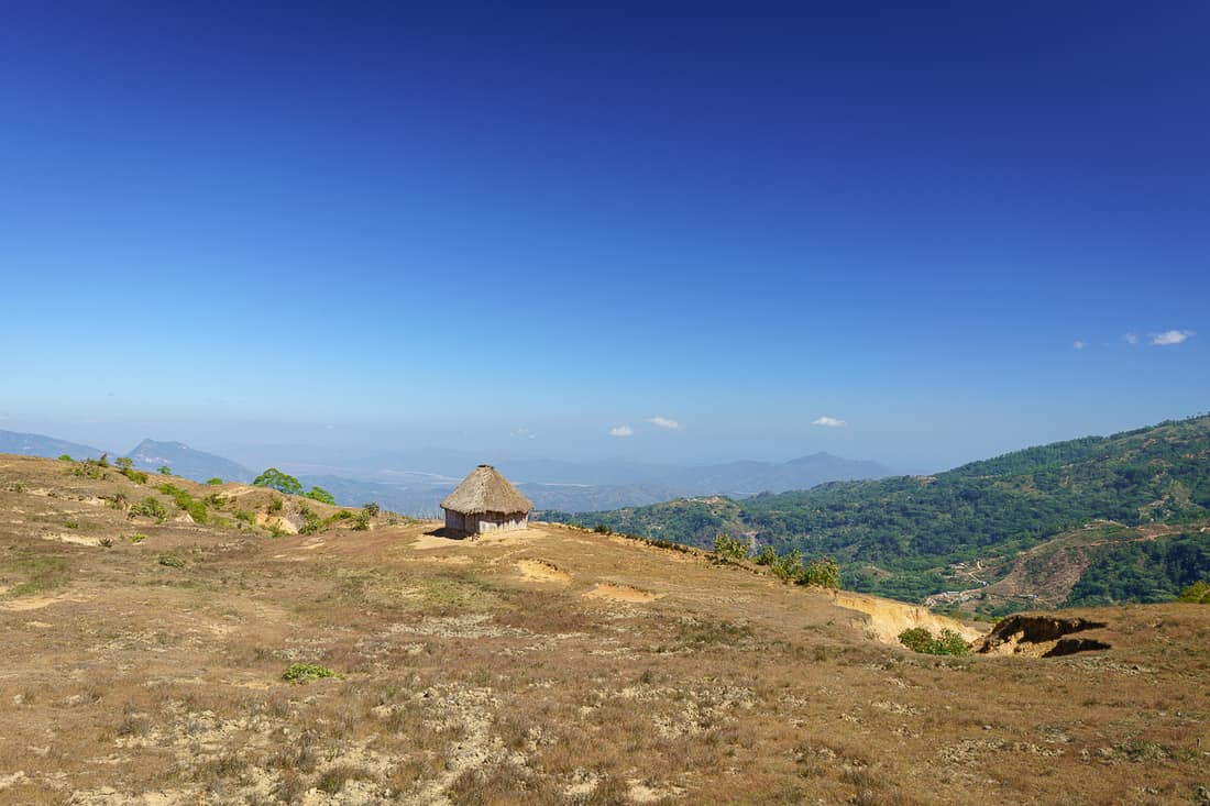 View from Letefoho cemetery, East Timor