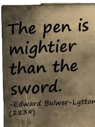 The pen Is Mightier Than The Sword: Why This is True?