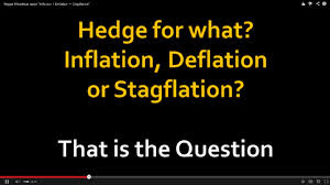 Short Notes On Reflation and Disinflation