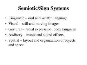 5 Facts About Sign Systems of Language