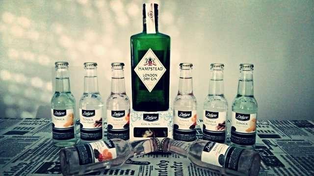 gin-tónic LIDL