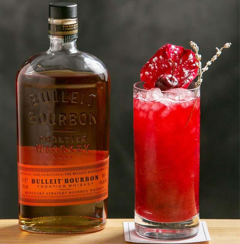 Bello Morello Sling cocktail