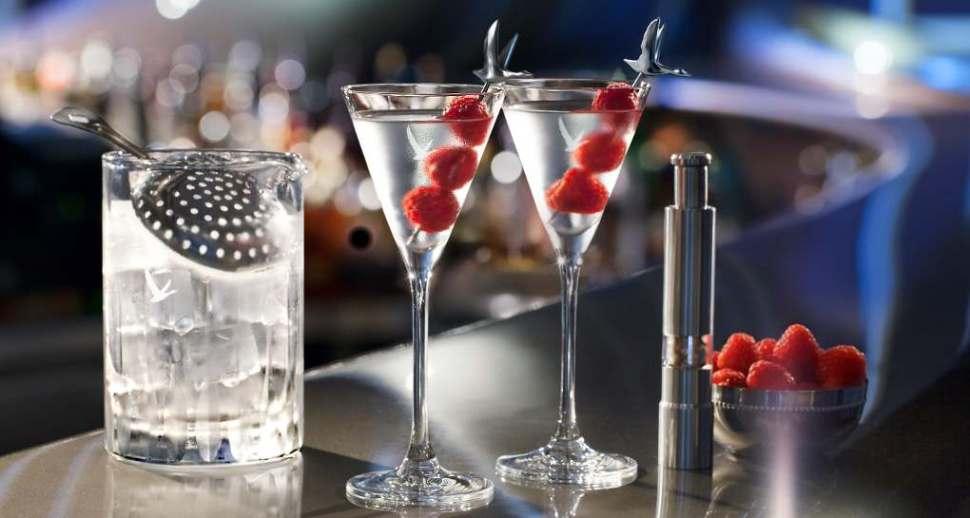 Cóctel Grey Goose Martini Galáctico
