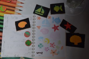 stamps! colourful stamps!