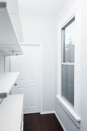 Walk In Closet Shelves & Window