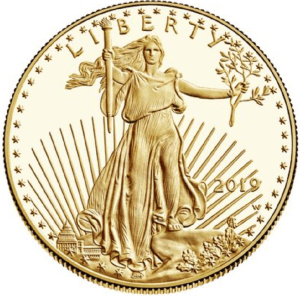 one ounce U.S. gold