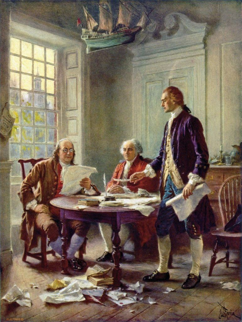 John Locke's Second Treatise was the basis for the Declaration of Independence