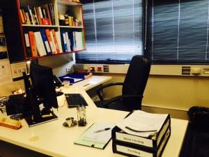 It's a nice little office