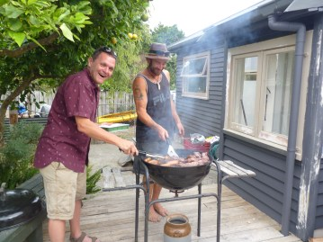 Duelling Barbeques
