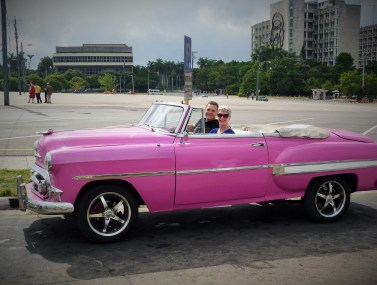 Cuba's Classic Cars - in our 1955 Chevy