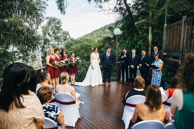 Wedding of Chelsea and Sean, Sapphire Ridge at Palm Cove