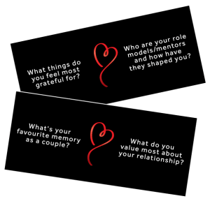 MIndful Coupling cards