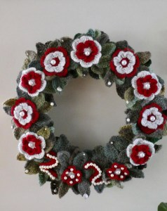 2020 Pandemic Christmas Wreath