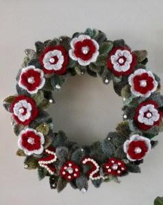 2020 Pandemic Christmas Wreath
