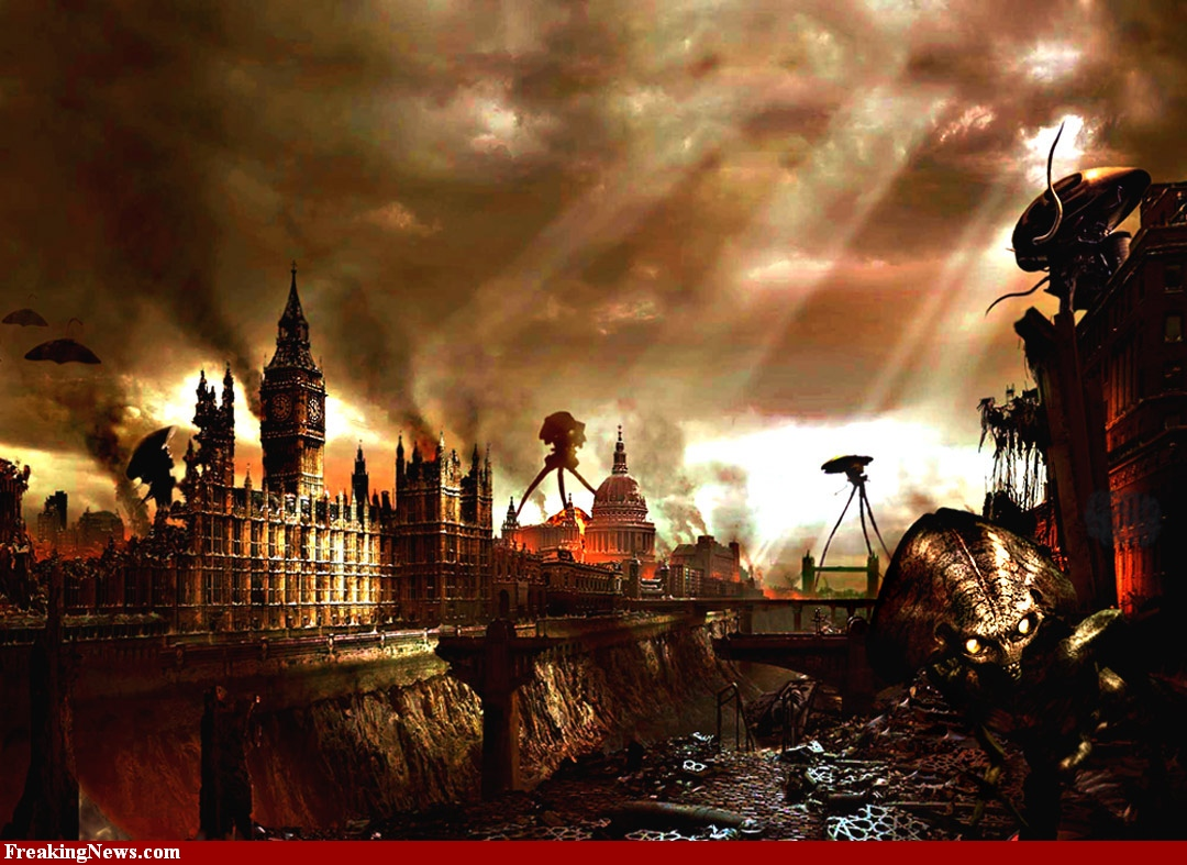 The War Of The Worlds H G Wells