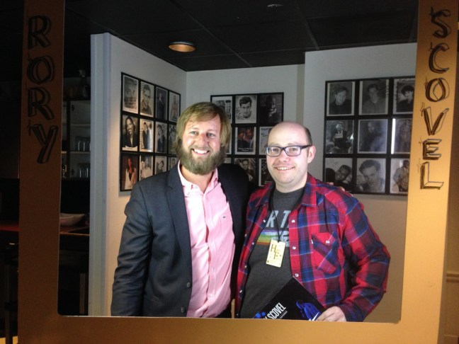 Rory Scovel and Hans Scharler