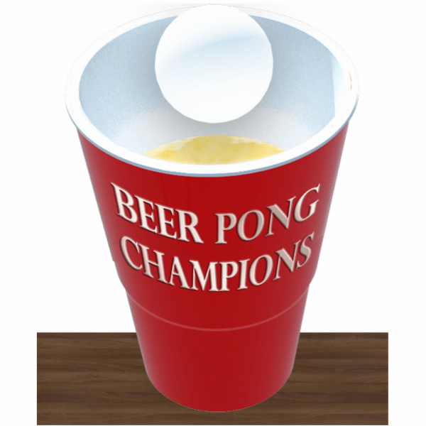 nothing mundane beer pong