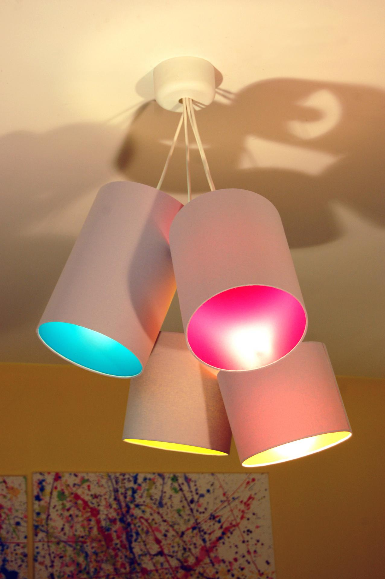 Luminaire Multi Suspension Colore Enfant | Suspension Luminaire ...
