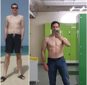 Muscle gain takes time