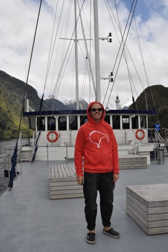 Bill on The Fiordland Navigator