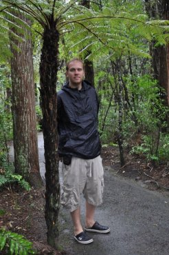 Bill at Waipoua Kauri Forest