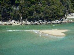 Abel Tasman heart shaped island