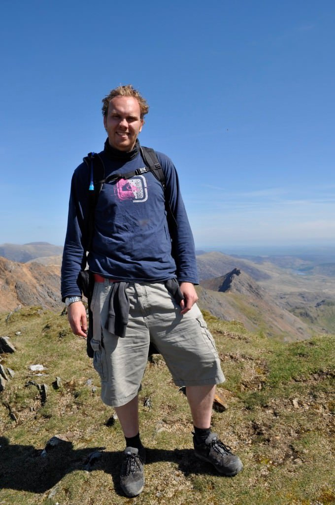 Bill at Scafell Pike