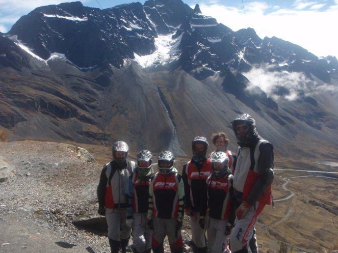 Death Road Bolivia ready to ride