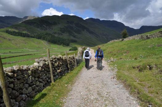 Walking the valleys